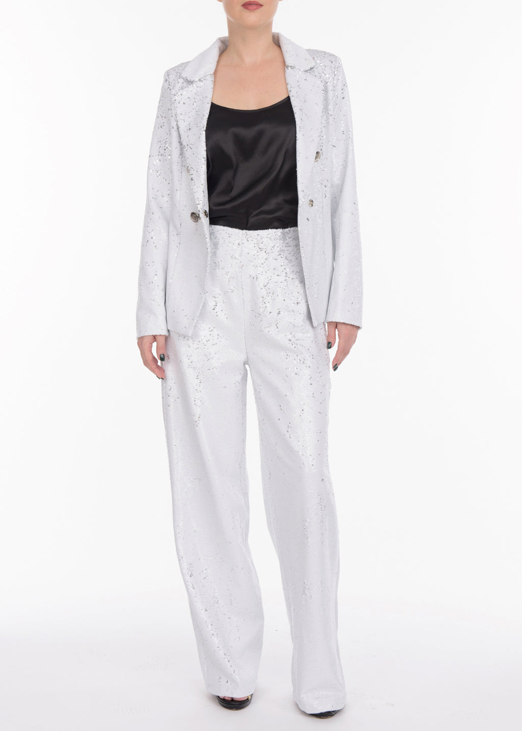 Sequin Suit Pants