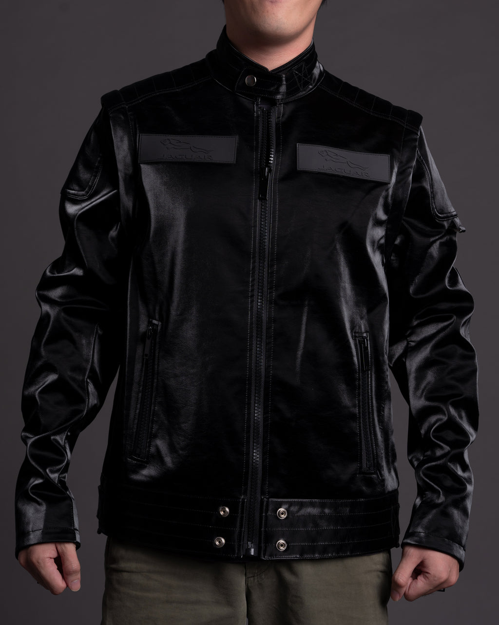 Jaguar Vegan Leather Men's Jacket