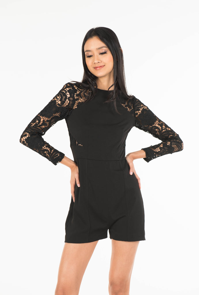 Guipure Playsuit