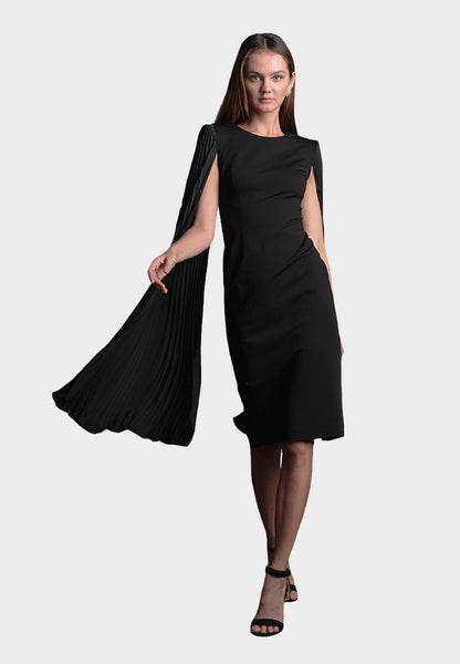 Alexa Pleated Dress