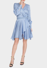 Belle Short Wrap Dress