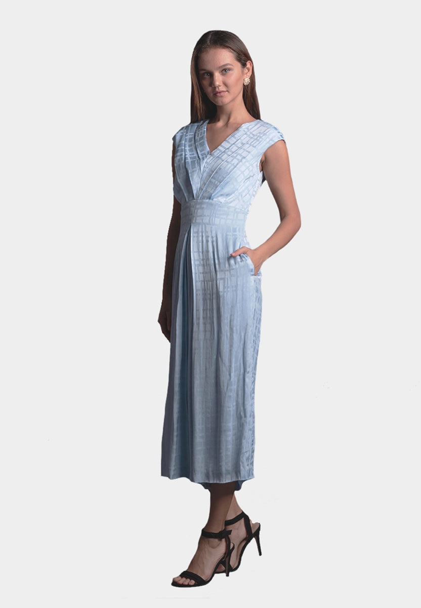 Elena Jumpsuit in Sky Blue