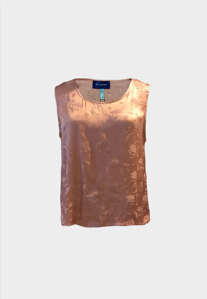 Ella Embossed Top in Pink