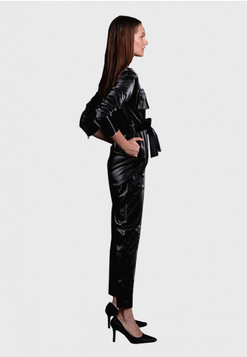 JAGUAR LEATHER JUMPSUIT *PRE-ORDER*