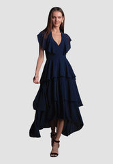 Lauren Chiffon Midi Dress