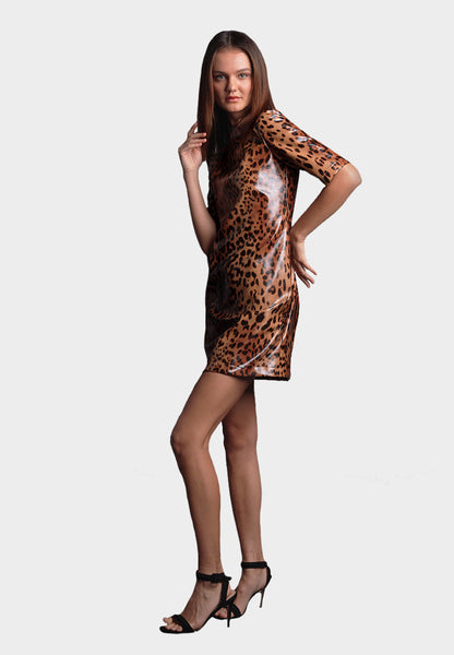 JAGUAR LEATHER DRESS *PRE-ORDER*