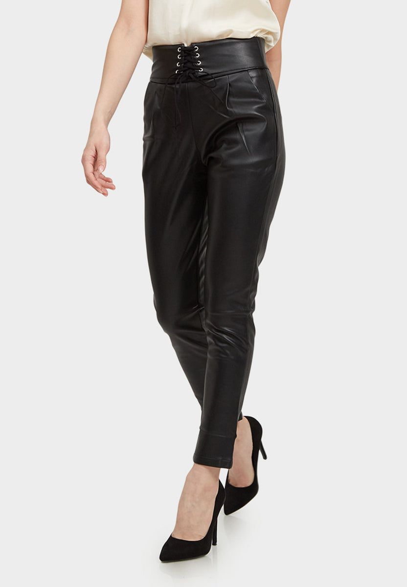 Vegan Leather Pants