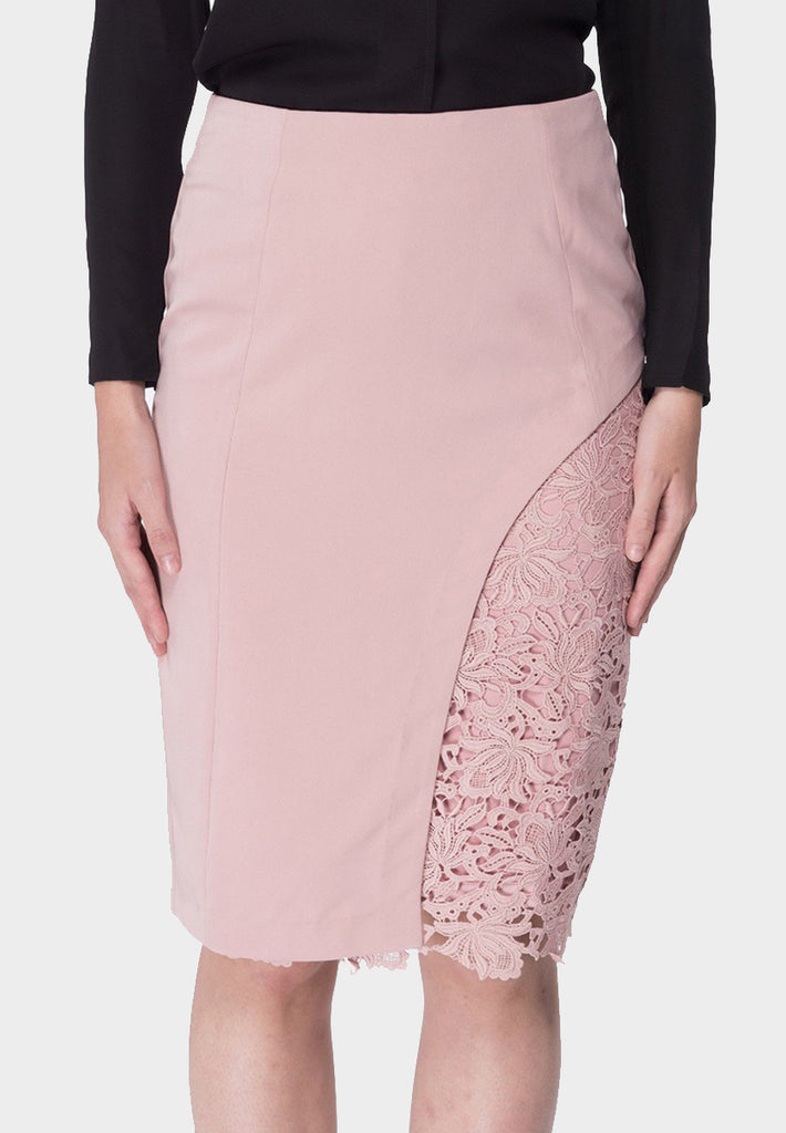 Patch Lace Skirt