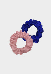 Raw Silk Scrunchies Bundle