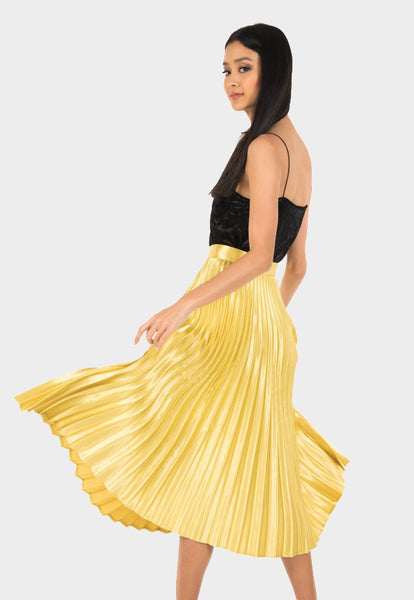 Sol Pleated Skirt