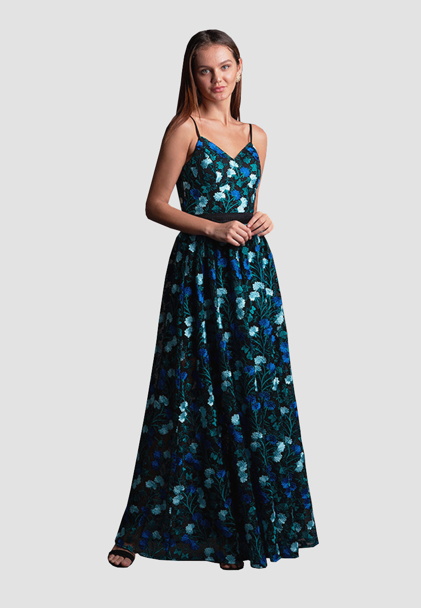 Spring Bloom Gown