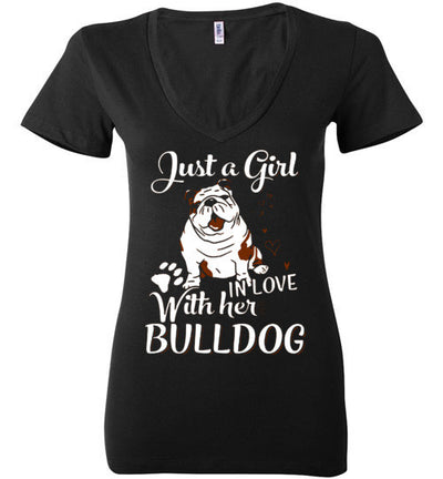 JUST A GIRL IN LOVE WITH HER BULLDOG