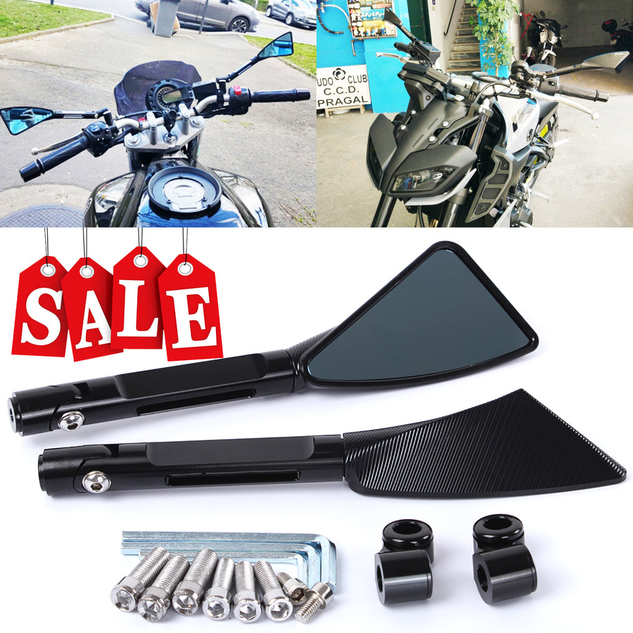 Aluminum CNC Motorcycle Rear View Side mirror