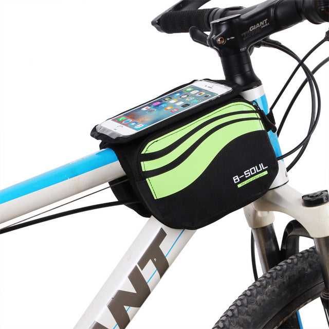 Bicycle Front Touch Screen Phone Bag 5.7 inch Cellphone