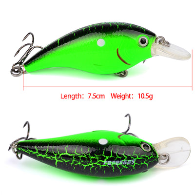 1pc-6pc/Box High Quality Fishing lure Mixed Size Fishaing bait 6#-10# high carbon steel hook fishing tackle