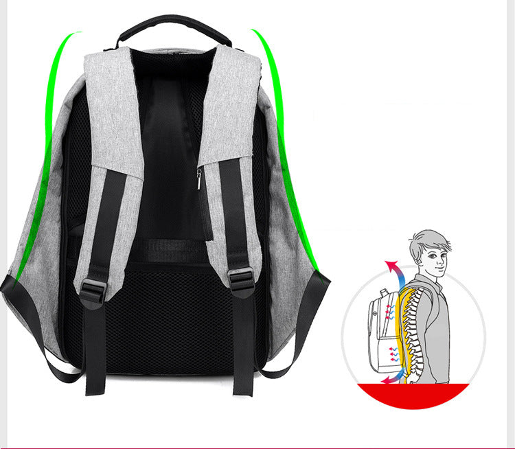anti theft usb charging travel backpacks