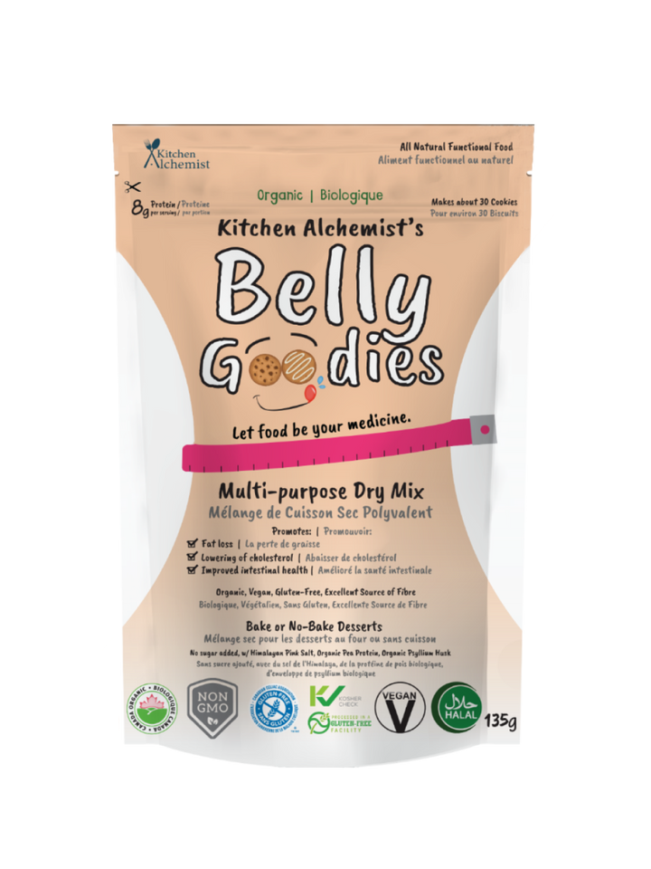 Belly Goodies Mix - organic multipurpose dry mix. 135g