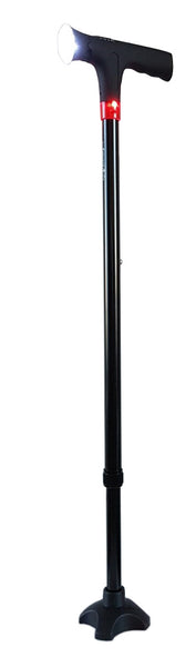 Standard Walking Stick with Essential Handle (Smart Cane with Manual Alarm)