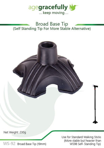 Walking Stick Tip - Self Standing Tip