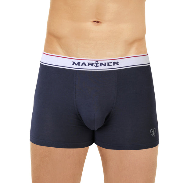 Short Katoen Stretch MARINE