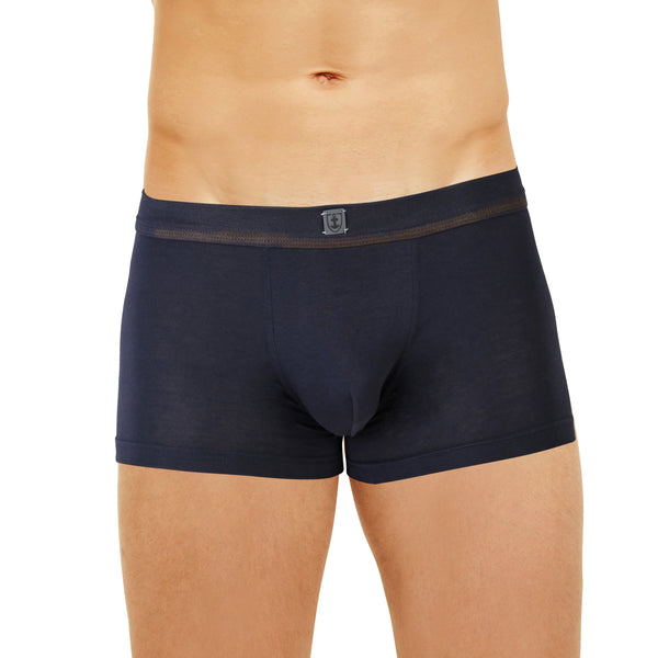 Shorty ceinture tricotée Coton Stretch MARINE