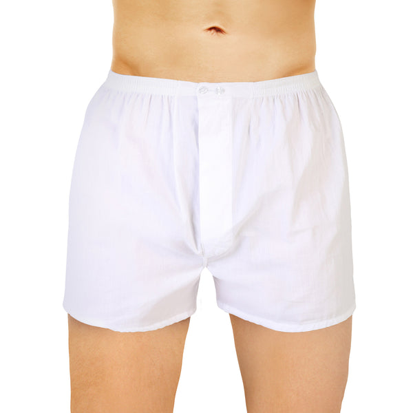 American Open Threaded White American Boxer