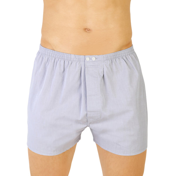 American Open Threaded Light Gray Boxer