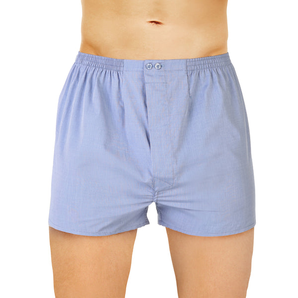 Open American Blue Threaded Boxer