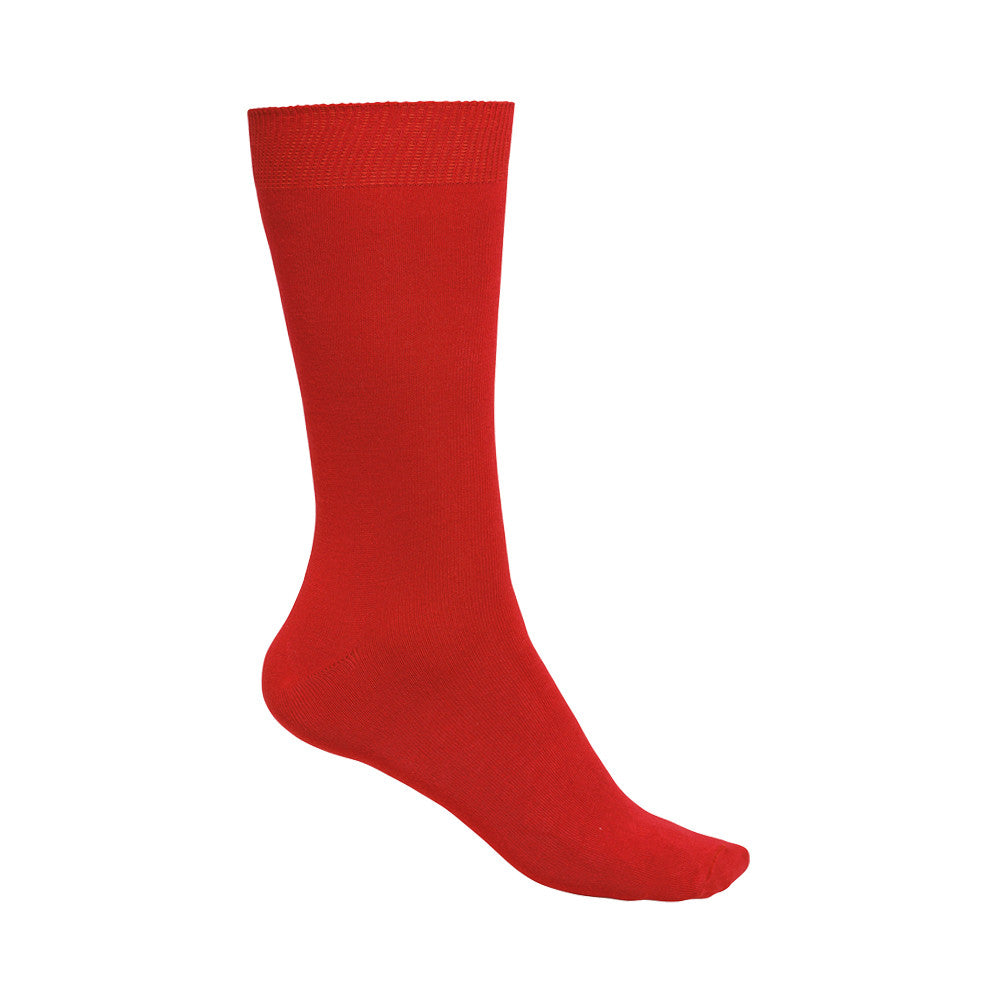 Chaussettes Bambou rouge