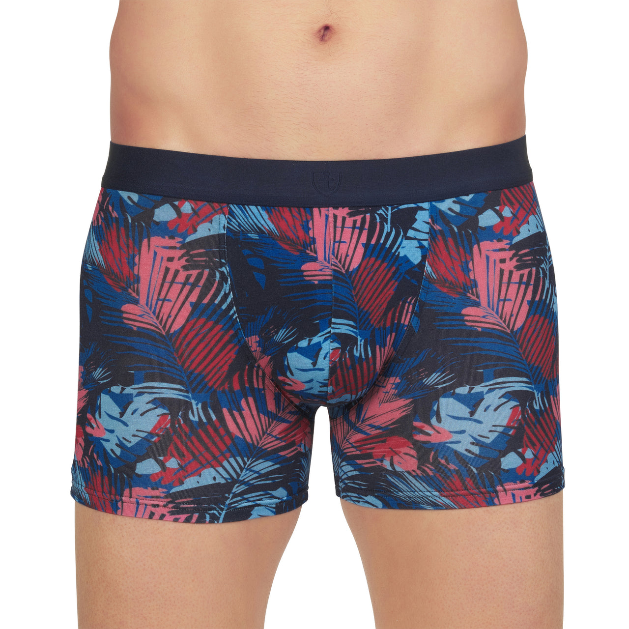 Shorty Micromodal Stretch Imprimé Jungle MARINE