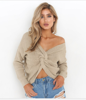 Tia Reversible Sweater