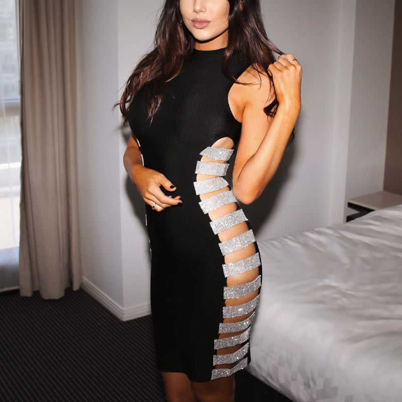 Sadie Diamanté Bandage Dress