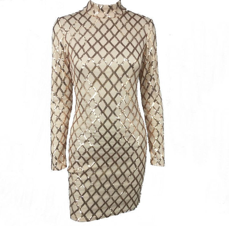 Reign Sequin Party Dress