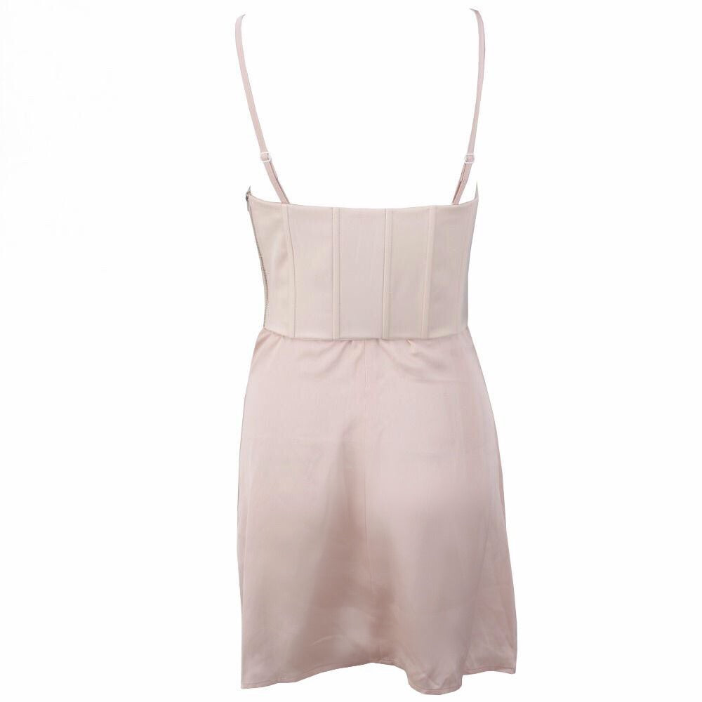 Abella Bustier Mini Dress - Blush