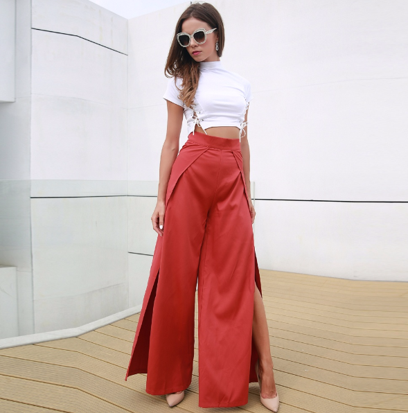 Swayze High Waist Trousers