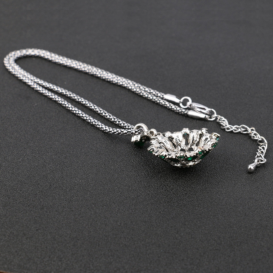 Bohemian Crystal Necklace