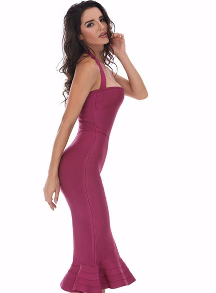Arya Halter Bandage Dress