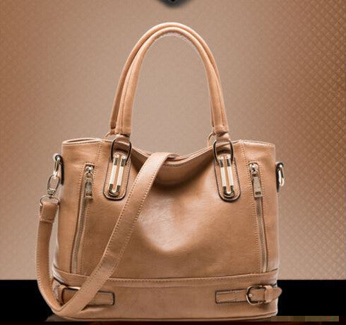 Oneida PU Leather Handbag