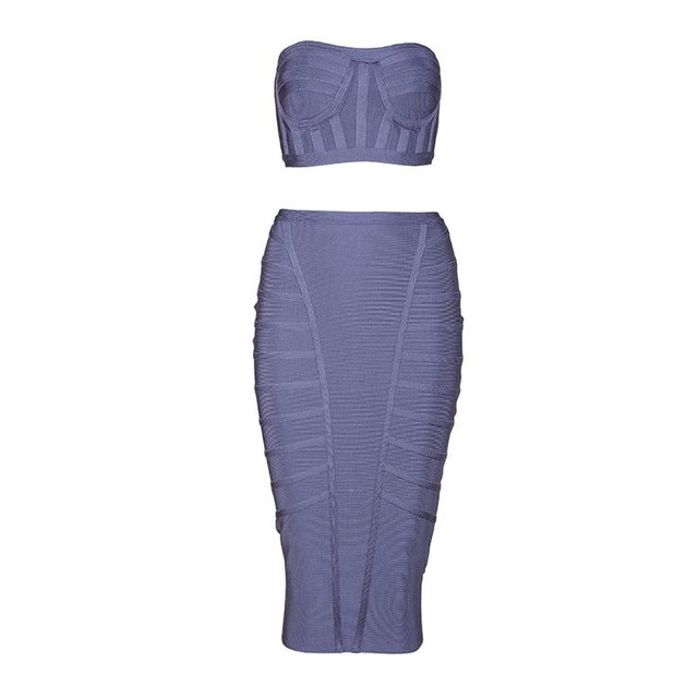 Lenore Two Piece Bandage Set