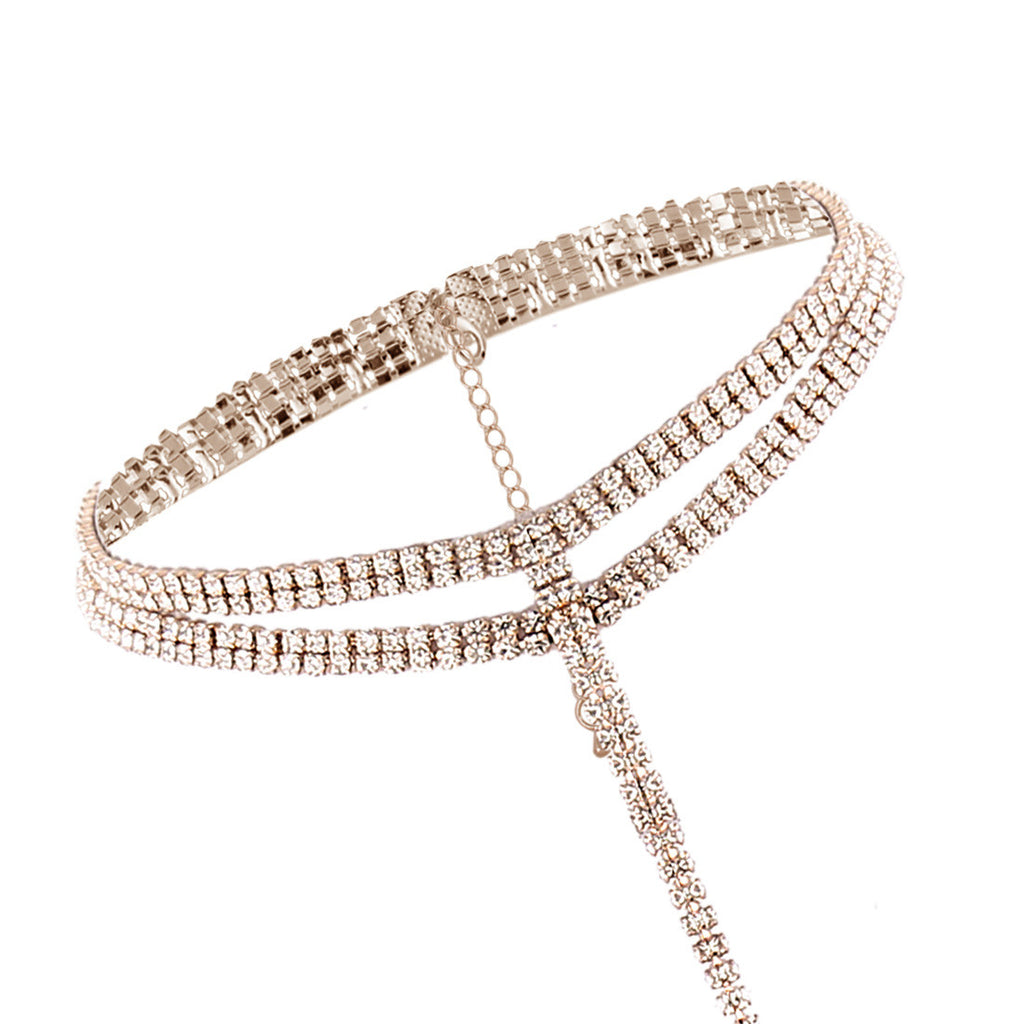 Colette Crystal Choker Necklace