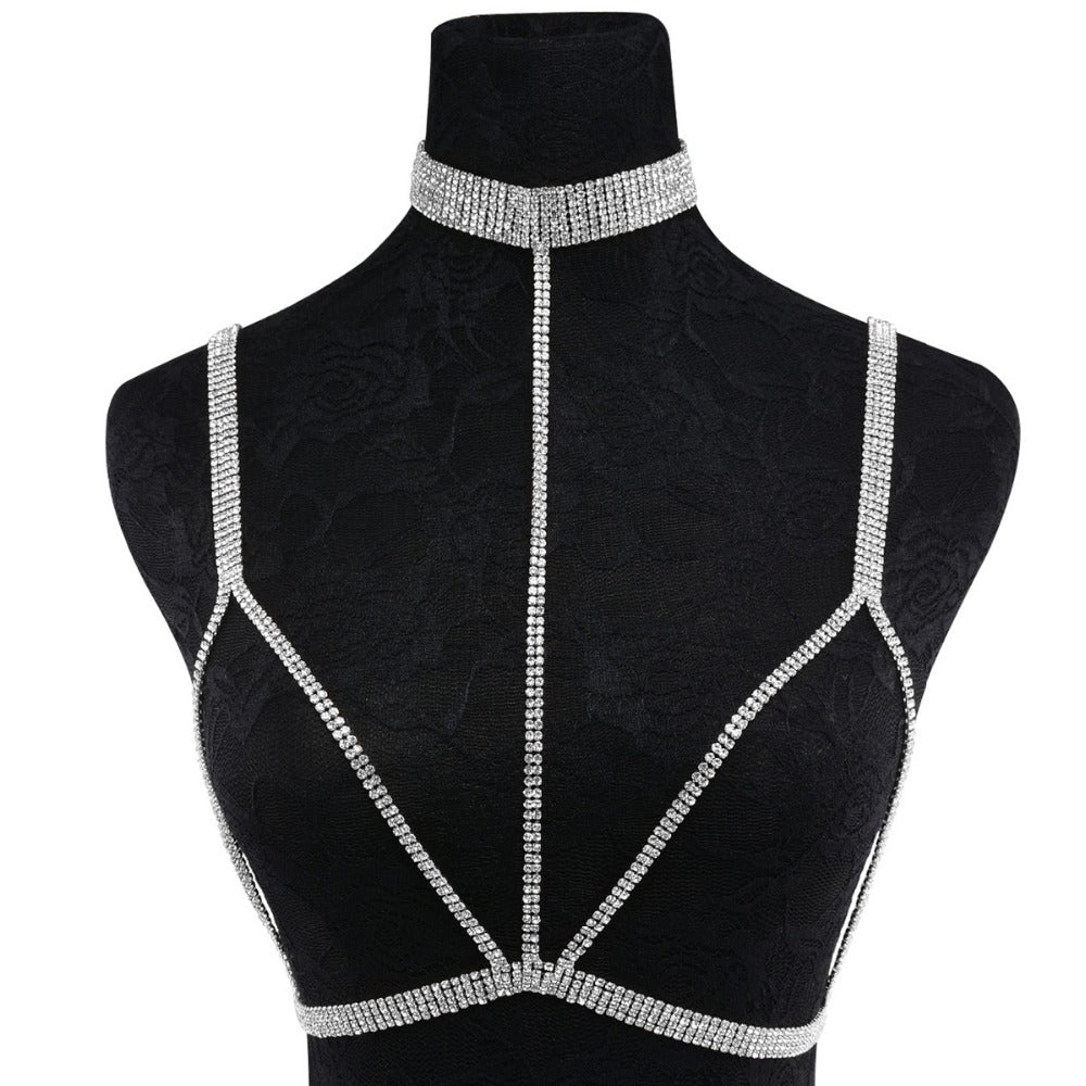 Goddess Diamond Body Harness (2 colors)