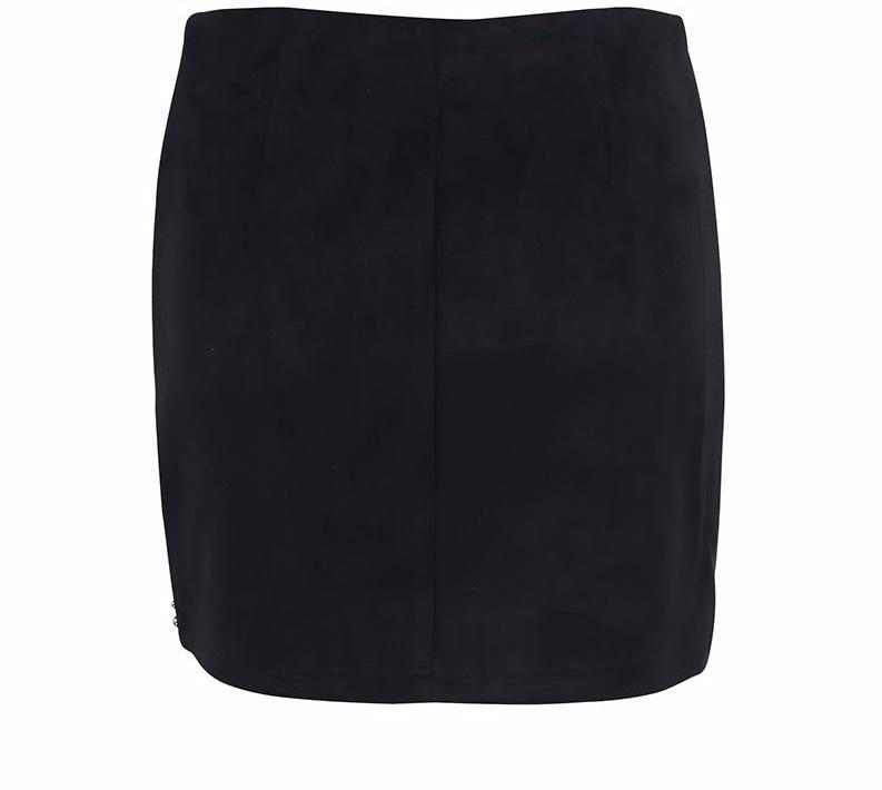 Orchid Mini Suede Skirt
