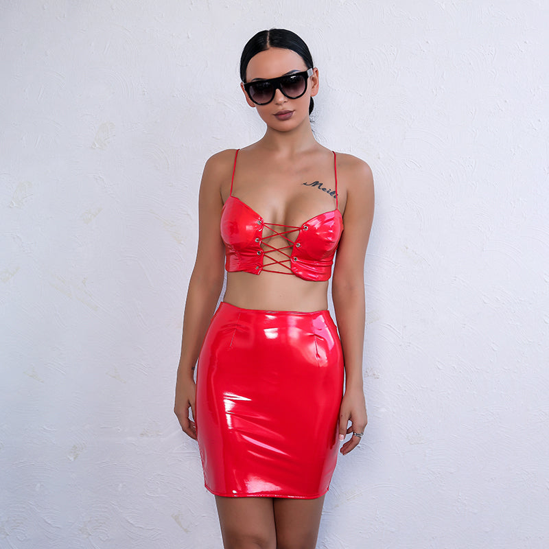 Latex And Chill Set - Red