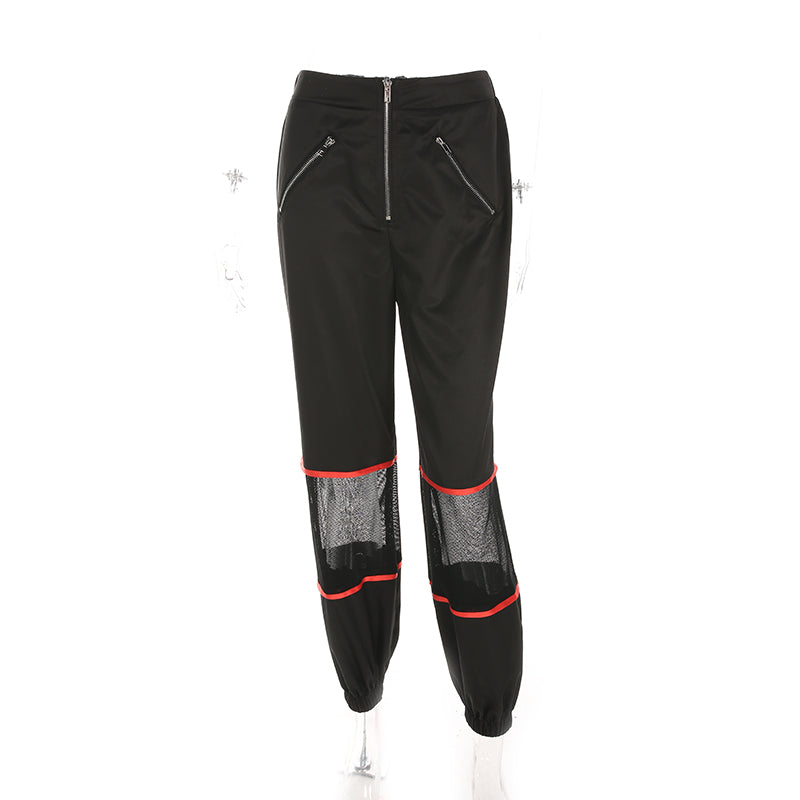 Didi Mesh Trousers - Black