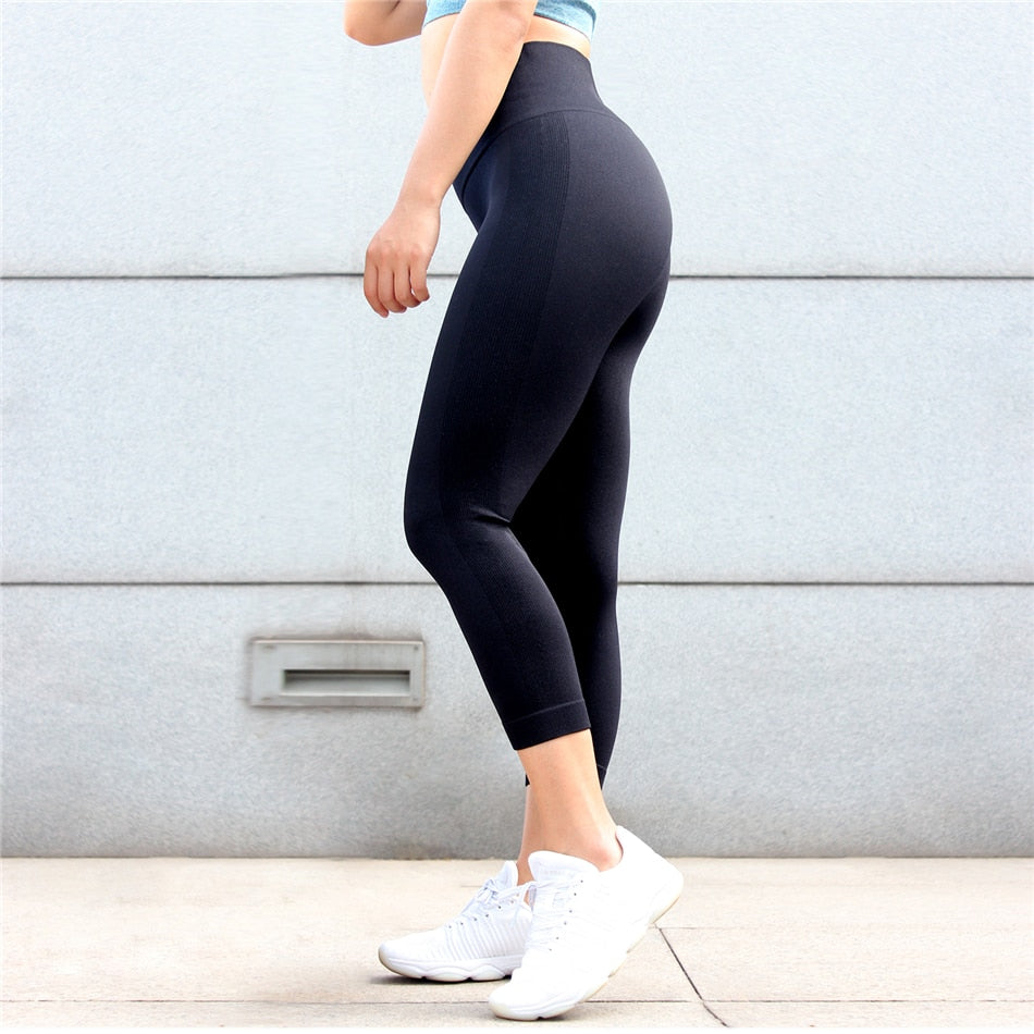 Nova Seamless Leggings - Black