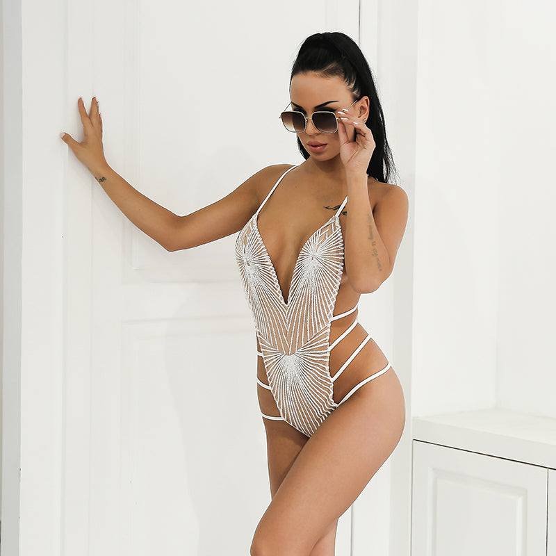 Amarosa Swimsuit - White