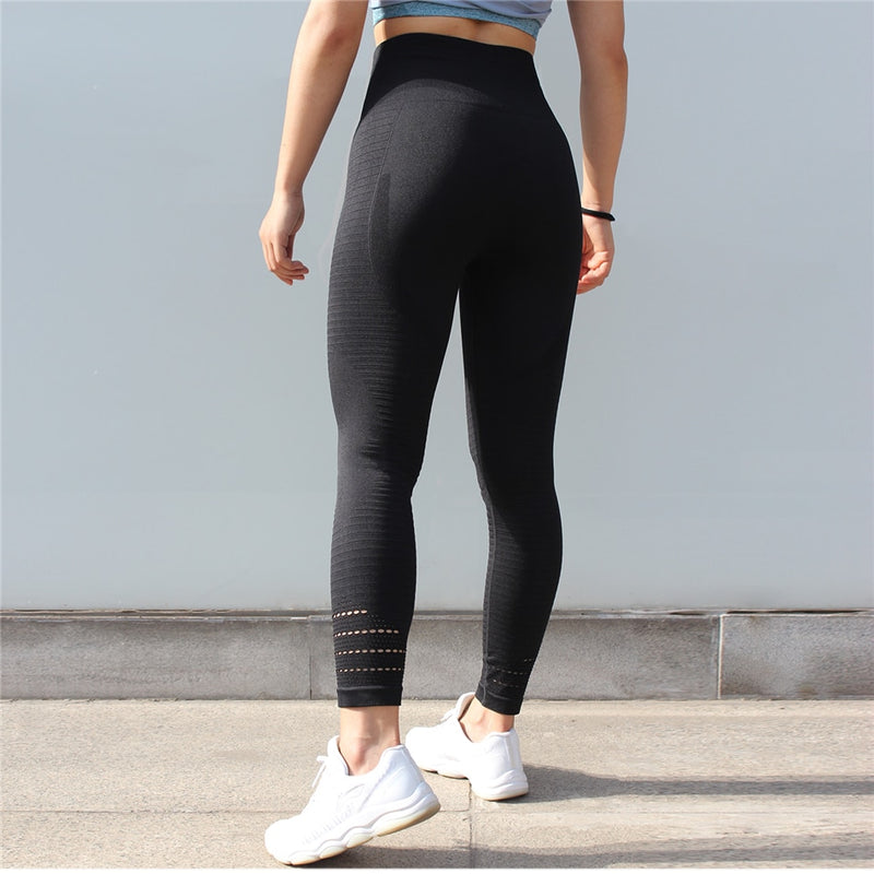Aubrie Seamless Leggings - Black