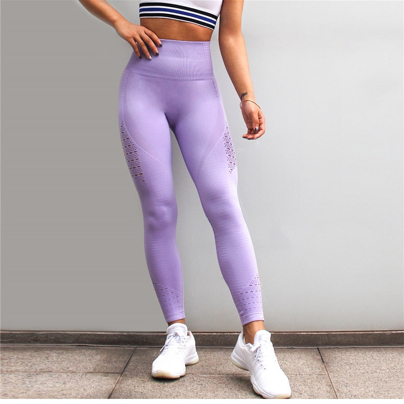 Active Fit Seamless Leggings - (5 Colors)