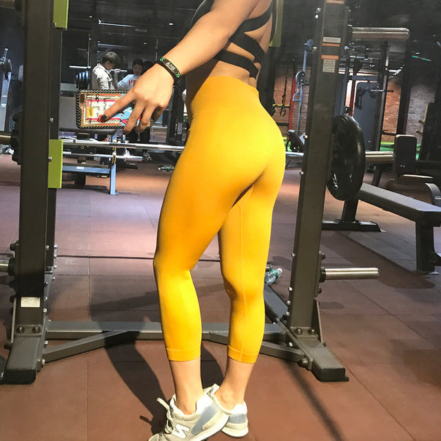 Nova Seamless Leggings - Yellow