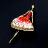 Ballet Dance Brooch